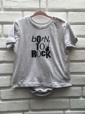 Body Camiseta Born to rock