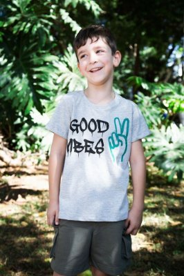 Camiseta masculina - Good Vibes