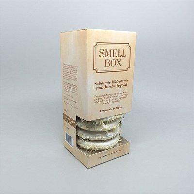 Sabonete Hidratante com Bucha Vegetal - 10 unidades