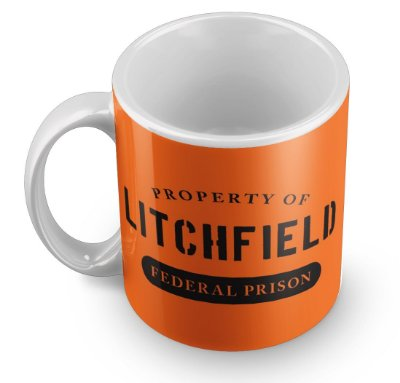 Caneca Orange The is New Black - Litchfield Property