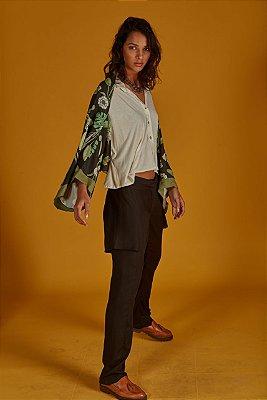 Kimono Estampa Botanic