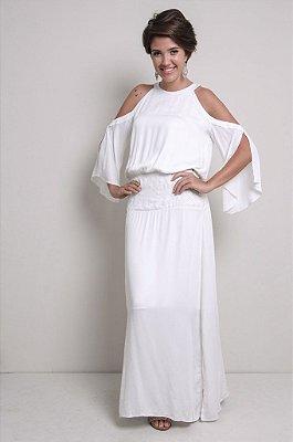 Vestido Longo Boho branco