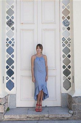 Vestido Sereia Azul