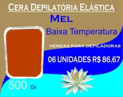 Cera Depilatória Elástica Mírcris 500 Gr