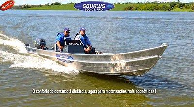 Barco Squalus 600 CL Pro - Lançamento!!!