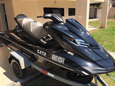 Jet Ski Yamaha FX Cruiser SVHO 2014 - 64hrs + Carreta galvanizada