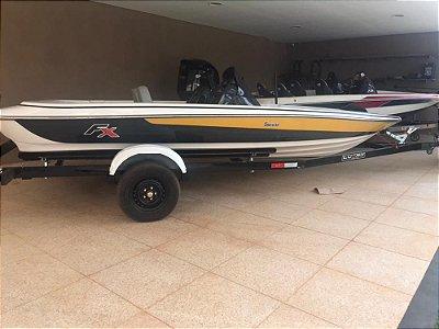 Bass Boat Fibralar  FX  2018 + Carreta rodoviária