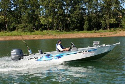 Lancha Marajó 19' Fishing Machine - Levefort