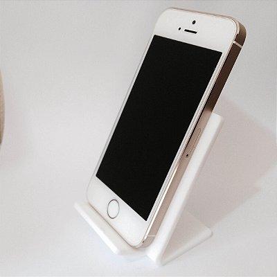 Expositor de celular branco  - 10 peças
