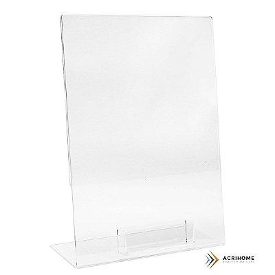 Expositor de folder A4 com porta cartões