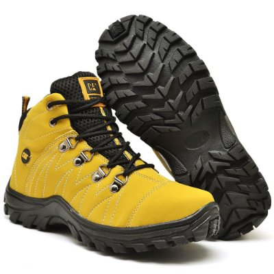 Bota Caterpillar Adventure Eco - Amarela
