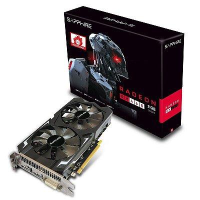 PLACA DE VIDEO SAPPHIRE RADEON RX 460 2GB DDR5 128 BITS