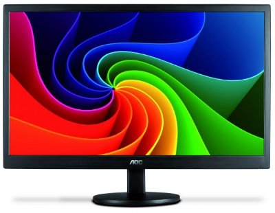 "MONITOR 21,5"" LED AOC - 200 CD/M2 DE BRILHO - FULL HD - VESA - E2270SWN"