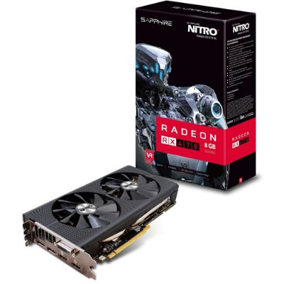 PLACA DE VIDEO SAPPHIRE RADEON RX 470 8GB DDR5 NITRO 256 BITS