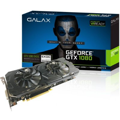 PLACA DE VIDEO GALAX GEFORCE GTX 1080 EX OC 8GB DDR5X 256 BITS
