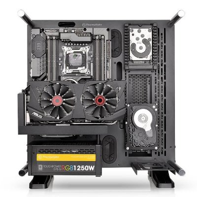 GABINETE ACRILICO THERMALTAKE CORE P3 MIDDLE TOWER CA-1G4-00M1WN-02
