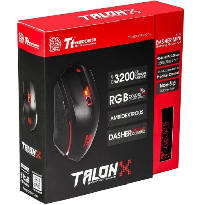 Mouse Gamer Thermaltake Sports Talon X