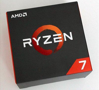 PROCESSADOR AMD RYZEN R7-1700, 3,0GHZ, AM4, 20MB CACHE, YD1700BBAEBOX
