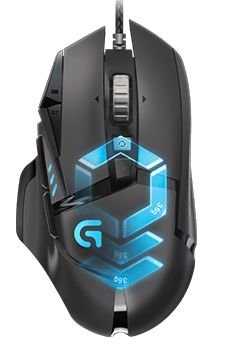 MOUSE GAMER G502 PROTEUS SPECTRUM RGB TUNABLE