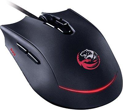Mouse Pcyes Garou  8 botões 3200dpis