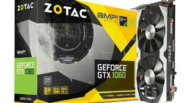 PLACA DE VIDEO ZOTAC AMP GTX 1060 6GB