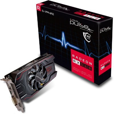 Placa de vídeo Rx 560 4GB Pulse OC