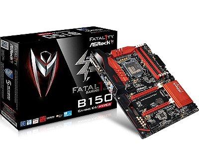 Placa Mãe Fatal1ty B150 Gaming K4 / Hyper DDR4 1151