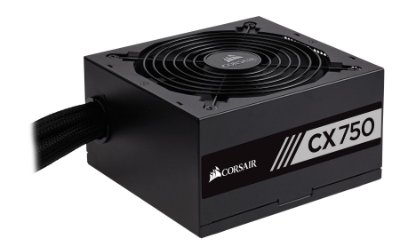 FONTE CORSAIR CX SERIES CX750 80 PLUS BRONZE 750W PFC ATIVO