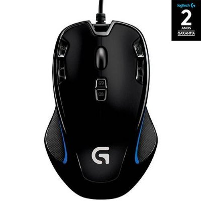 Mouse Gamer G300s 2.500 DPI PC - Logitech
