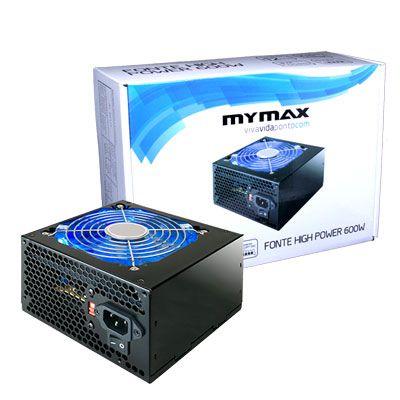 Fonte High Power Atx 600w MYMAX