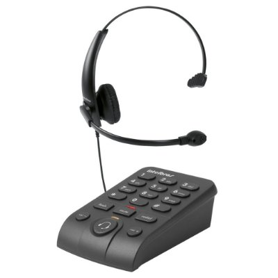 Telefone IntelBras Headset com Base Discadora - HSB 50