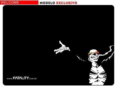 Mousepad Fatality Welcome médio com case