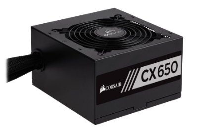 FONTE CORSAIR CX SERIES CX650 80 PLUS BRONZE 650W PFC ATIVO
