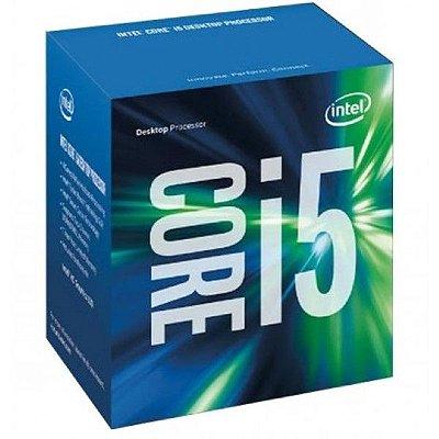 Processador Intel Core i5-6400 Skylake, Cache 6MB, 2.7Ghz (3.3Ghz Max Turbo), LGA 1151, Intel HD Graphics 530