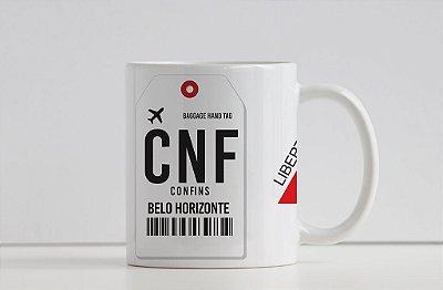Caneca Aeroporto CNF, Confins -  Minas Gerais - Belo Horizonte, Brasil