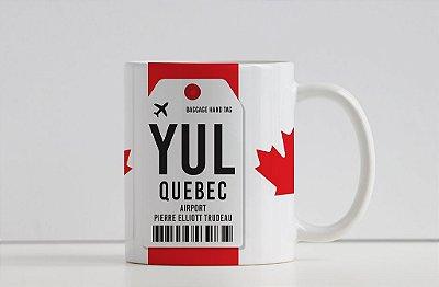 Caneca Aeroporto  YUL - Pierre Eliott Trudeau - Quebec - Canadá