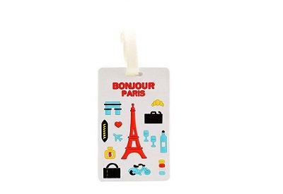 Tag de Bagagem - Bonjour Paris