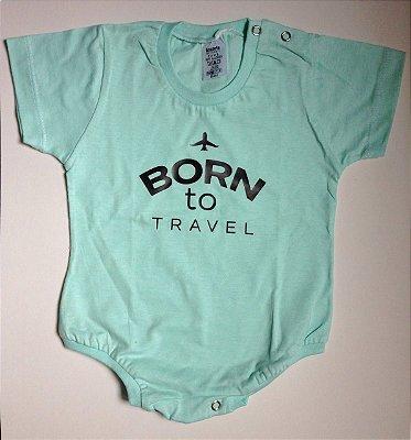 Body Born to travel - Verde Água