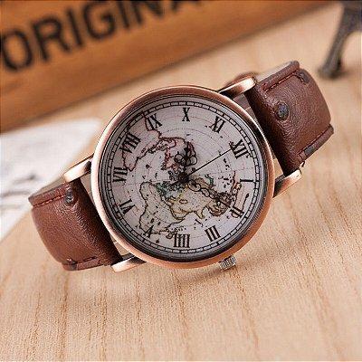 Relógio Viajante Vintage