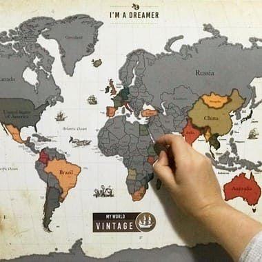 Mapa Raspadinha Vintage
