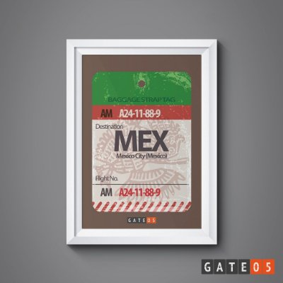 Pôster Tickets Worldwide - México City, México