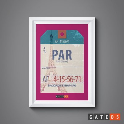 Pôster Tickets Worldwide - Paris, França