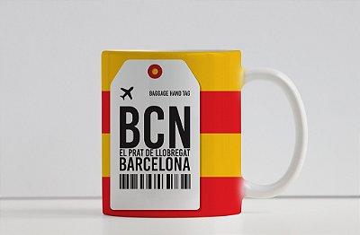Caneca Aeroporto BCN, El Prat De LLobregat- Barcelona - Espanha