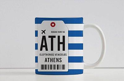 Caneca Aeroporto ATH, Eleftherios Venizelos- Atenas - Grécia