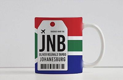Caneca Aeroporto JNB, Oliver R. Tambo - Johanesburgo, África