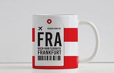 Caneca Aeroporto FRA, Rhein- Main F.- Frankfurt, Alemanha