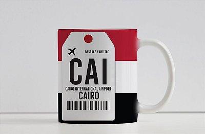 Caneca Aeroporto CAI -  Cairo, Egito