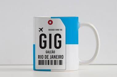 Caneca Aeroporto GIG, Galeão- Rio de Janeiro, Brasil