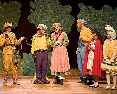 Teatro infantil: A Chapeuzinho Vermelho