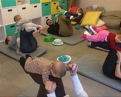 Movimento e desenvolvimento para pequenos de 6 meses a 2 anos (SÃO PAULO)